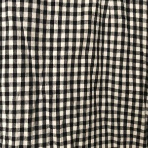 Black/gray/white gingham urban outfitters dress